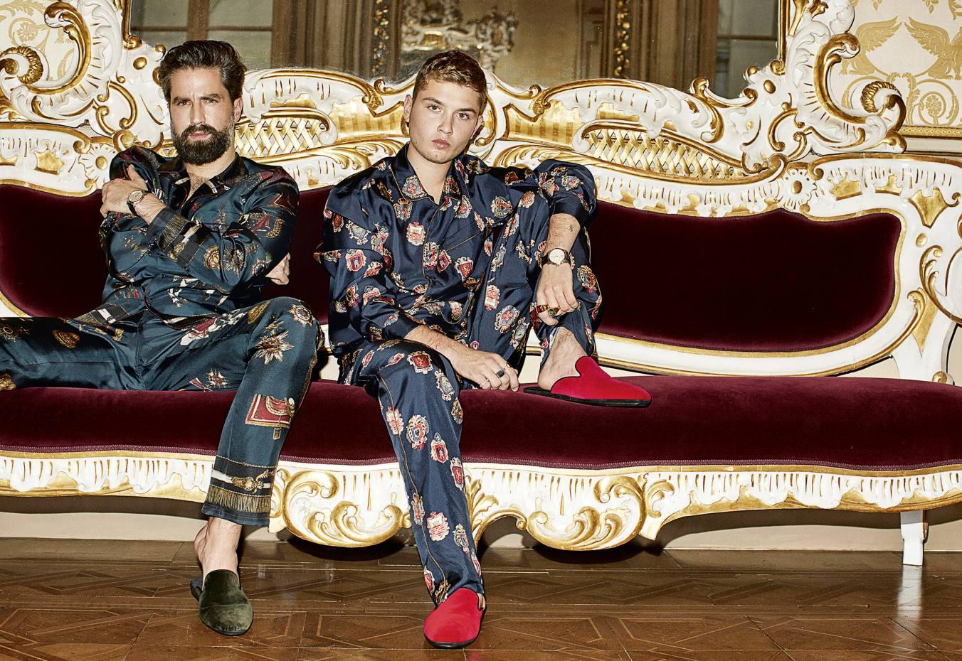 Comprar pijamas de seda para hombres