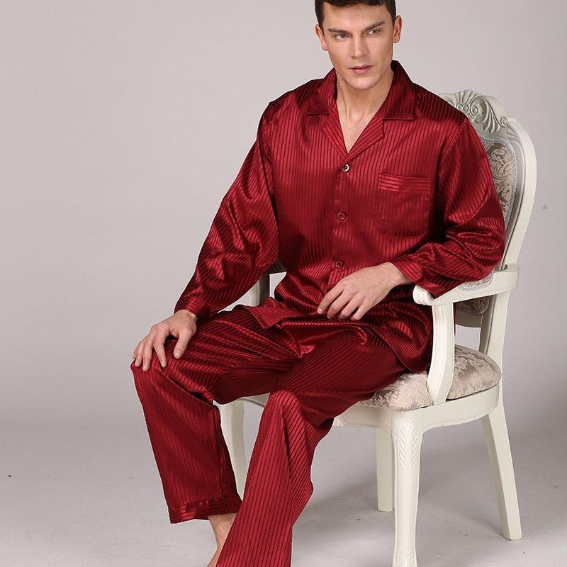 pijama de seda para hombre asequible